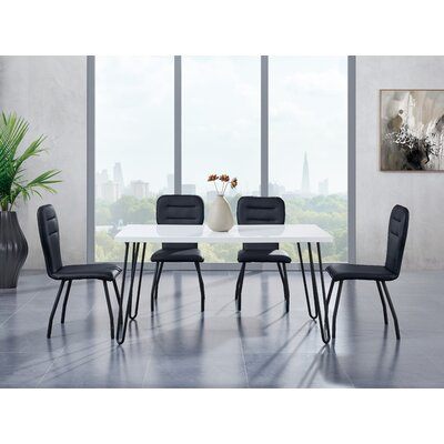 Wembley Metal Base Dining Table