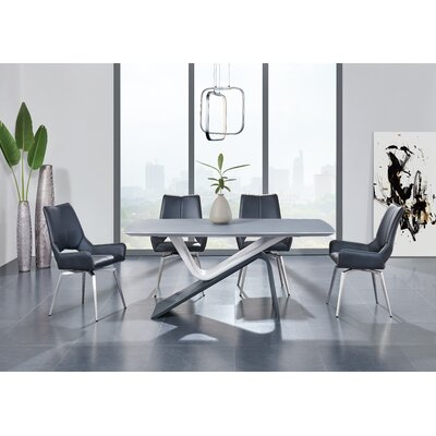 Kimbell Matte Base Dining Table