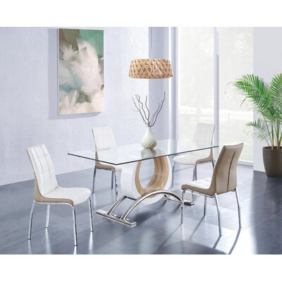 Kimbell Horseshoe Base Dining Table