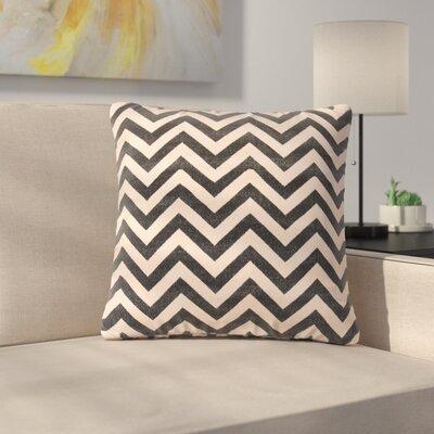 Lily Throw Pillow Color: Black/Cream/Gray