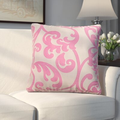 Chalfont Throw Pillow Color: Flamingo Pink