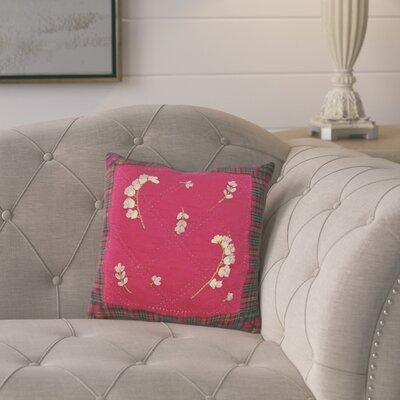 Carlone Plaid 100% Cotton Throw Pillow
