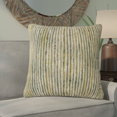 Del Rey Oaks Decorative 100% Cotton Throw Pillow Color: Multi/Green