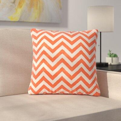 Lily Throw Pillow Color: Cream/Orange
