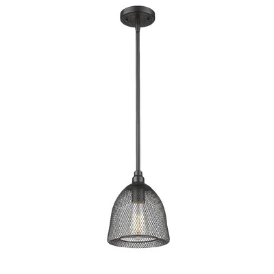 Bevis 1-Light Mini Pendant Finish: Oil Rubbed Bronze