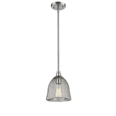 Bevis 1-Light Mini Pendant Finish: Brushed Satin Nickel