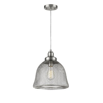 Blais 1-Light Mini Pendant Finish: Brushed Satin Nickel