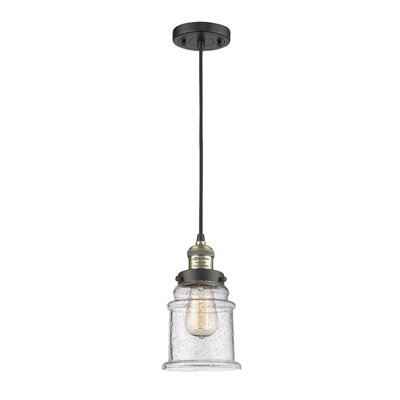 Greeley 3-Light Mini Pendant Finish: Black Brushed Brass