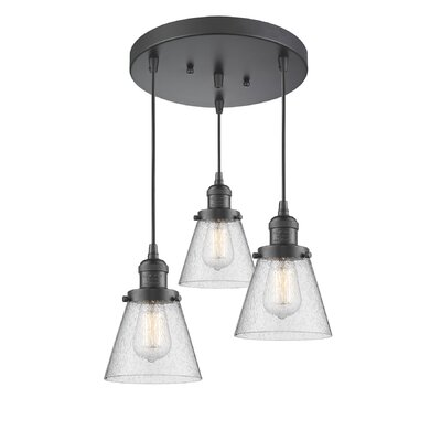 Bovee 3-Light Cluster Pendant Finish: Oil Rubbed Bronze
