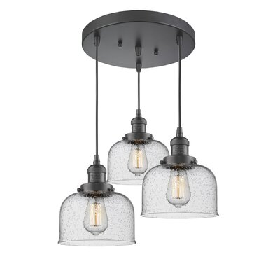 Bousquet 3-Light Cluster Pendant Finish: Oiled Rubbed Bronze