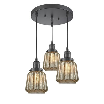 Vinson 3-Light Cluster Pendant Finish: Oiled Rubbed Bronze