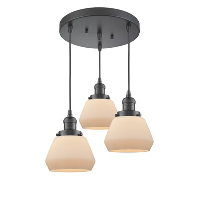 Rivka 3-Light Cluster Pendant Finish: Oil Rubbed Bronze