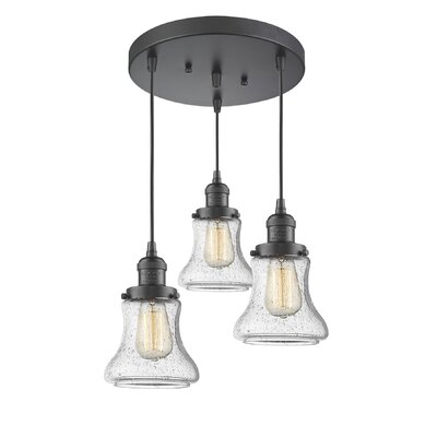 Aubrielle 3-Light Cluster Pendant Finish: Oiled Rubbed Bronze