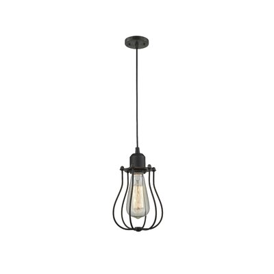 Desilets 1-Light Mini Pendant Finish: Oil Rubbed Bronze