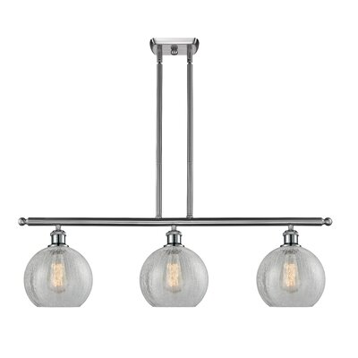 Garduno 3-Light Kitchen Island Pendant Finish: Brushed Satin Nickel