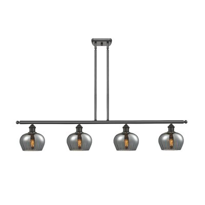 Dooling 4-Light Kitchen Island Pendant Finish: Oiled Rubbed Bronze