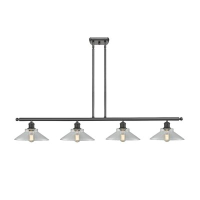 Naya 4-Light Kitchen Island Pendant Finish: Oiled Rubbed Bronze