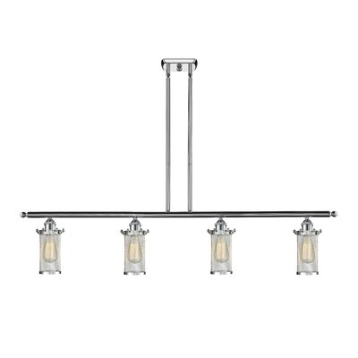 Amell 4-Light Kitchen Island Pendant Finish: Polished Chrome