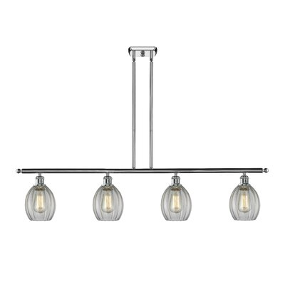Raylene 4-Light Kitchen Island Pendant Finish: Polished Chrome