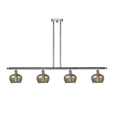Dooling 4-Light Kitchen Island Pendant Finish: Polished Chrome
