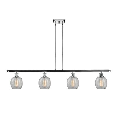 Raye 4-Light Kitchen Island Pendant Finish: Polished Chrome