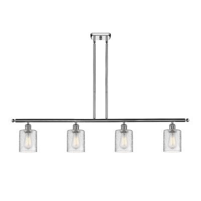 Inglestone Common 4-Light Kitchen Island Pendant Finish: Polished Chrome