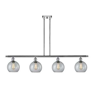 Garduno 4-Light Kitchen Island Pendant Finish: Polished Chrome