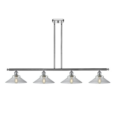 Nash 4-Light Kitchen Island Pendant Color: Polished Chrome