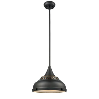 Emerie 1-Light Inverted Pendant Finish: Oil Rubbed Bronze