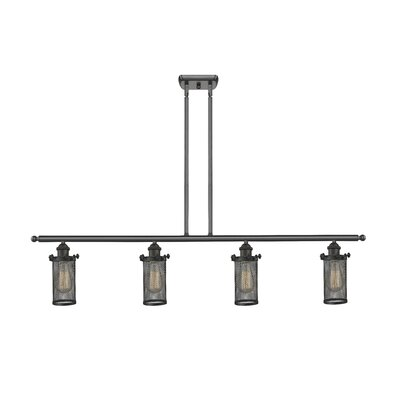 Amell 4-Light Kitchen Island Pendant Finish: Oil Rubbed Bronze