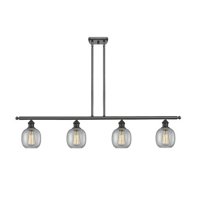Raye 4-Light Kitchen Island Pendant Finish: Oiled Rubbed Bronze