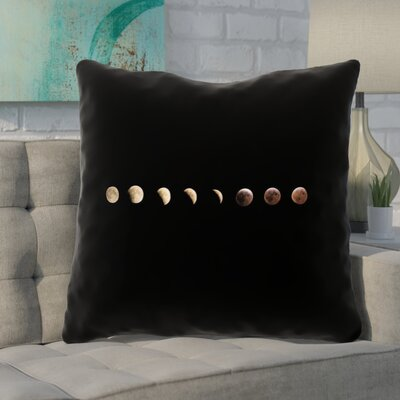 Shepparton Moon Phases Square Euro Pillow