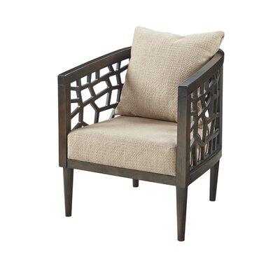 Bobbie Armchair Upholstery: Tan