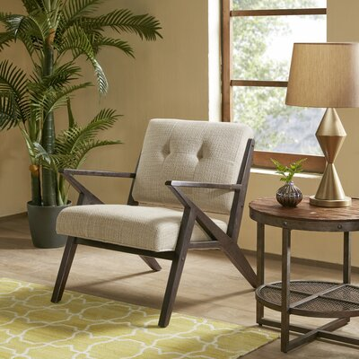 Alvarado Lounge Chair Upholstery: Tan