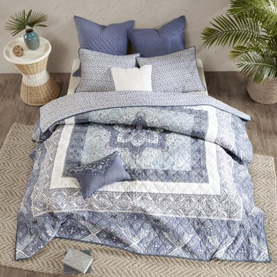 Jaden Cotton 7 Piece Coverlet Set