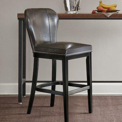 Zhora 31 Bar Stool Color: Gray/Black