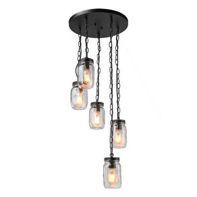 Christopherson 5-Light Cluster pendant