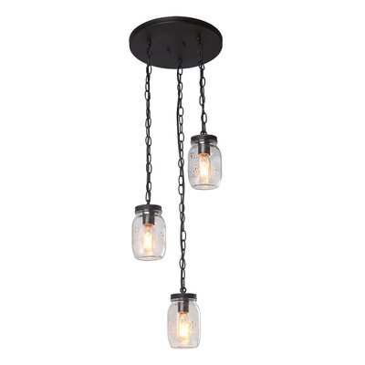 Christon 3-Light Cluster Pendant