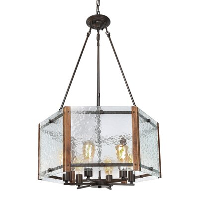 Brownville 6-Light Drum Chandelier