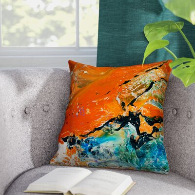 Nightfall Throw Pillow Size: 16 H x 16 W x 1.5 D