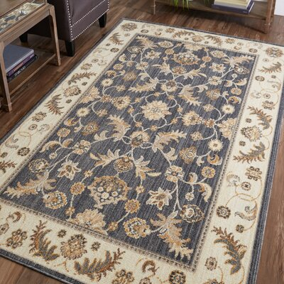 Meagan Biege Area Rug Rug Size: Rectangle 5 x 8