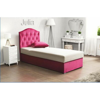Carmel Twin Panel Bed with Mattress