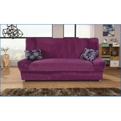 Vivanco Sofa Bed Finish: Purple