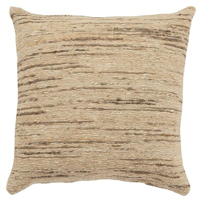 Eberardo Textured Silk Throw Pillow Fill Material: Polyester/Polyfill
