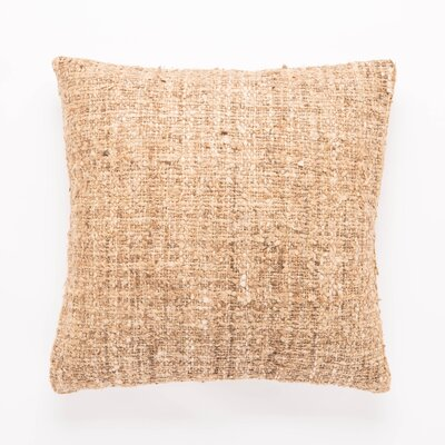Waterford Textured 100% Silk Throw Pillow Fill Material: Polyester/Polyfill
