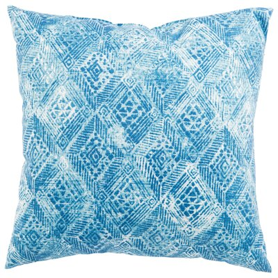 Azucena Outdoor Throw Pillow Color: Blue, Size: 20 H x 20 W