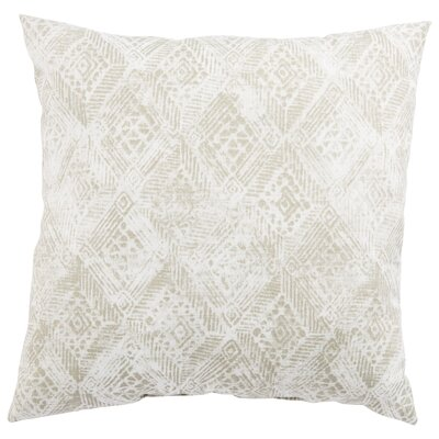Azucena Outdoor Throw Pillow Color: Gray, Size: 20 H x 20 W