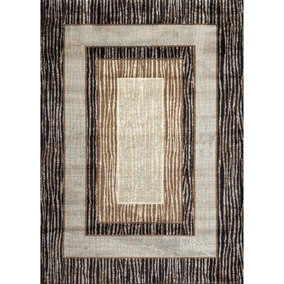 Dubuque Geo Brown Area Rug Rug Size: Rectangle 2' x 3'
