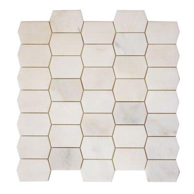 Marble Mosaic Tile in Calacatta Oro