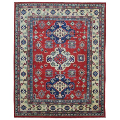 One-of-a-Kind Abbotsford Oriental Hand Woven Wool Red/Beige Area Rug